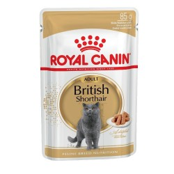 ROYAL CANIN British Shorthair ADULT в соусе 85г