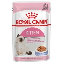 ROYAL CANIN KITTEN в желе 85г